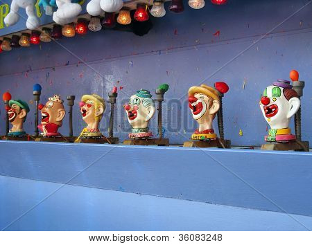 Carnival Clowns Shooting Game
