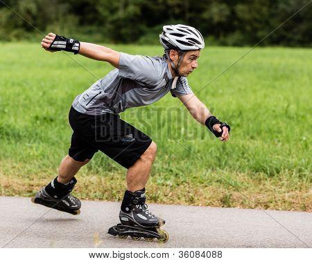 roller blading
