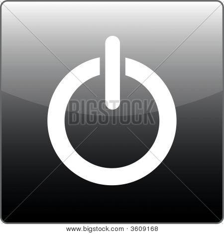 Power Button Grey