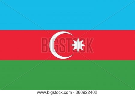 Azerbaijan Flag Illustration,textured Background, Symbols And Official Flag Of Azerbaijan,for Advert