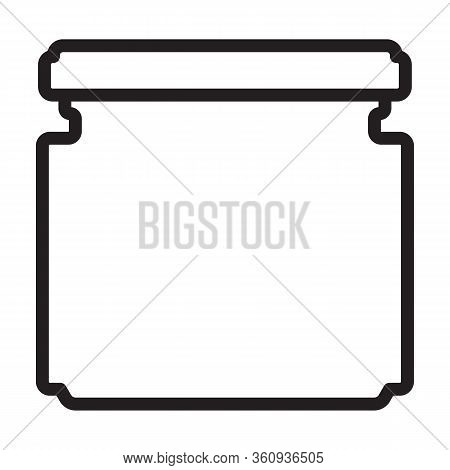 Mustard Vector Icon.outline Vector Icon Isolated On White Background Mustard.
