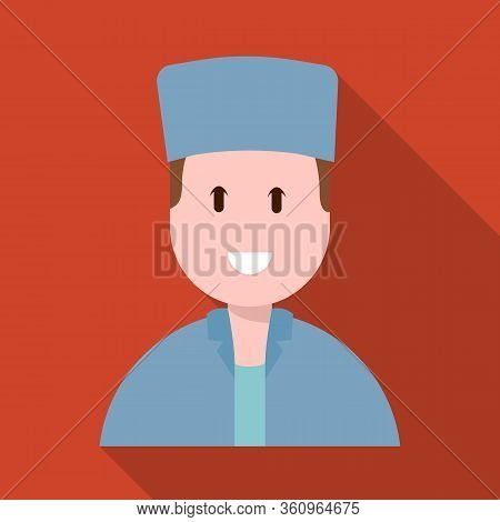 Vector Illustration Of Physician And Professional Logo. Collection Of Physician And Laboratory Stock