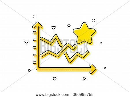 Stars Rating Sign. Ranking Star Icon. Best Stats Rank Symbol. Yellow Circles Pattern. Classic Rankin