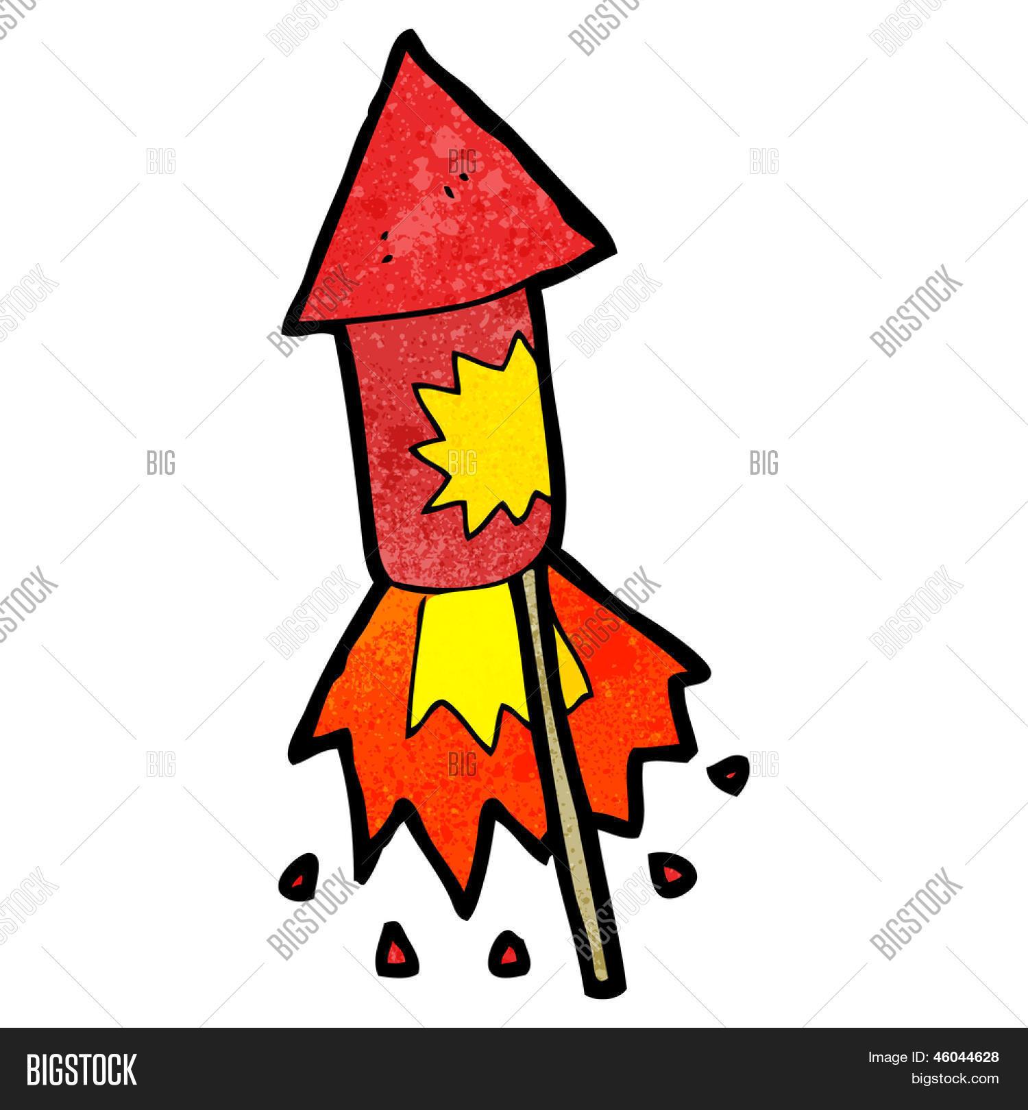 Imagen Y Foto Cohete De Fuegos Prueba Gratis Bigstock