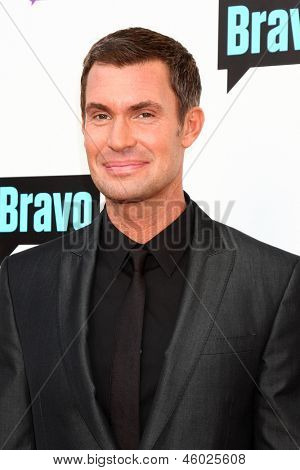 LOS ANGELES - MAY 22:  Jeff Lewis arrives at the Bravo Media's 2013 For Your Consideration Emmy Event at the ATAS Leonard H. Goldenson Theater on May 22, 2013 in No. Hollywood, CA