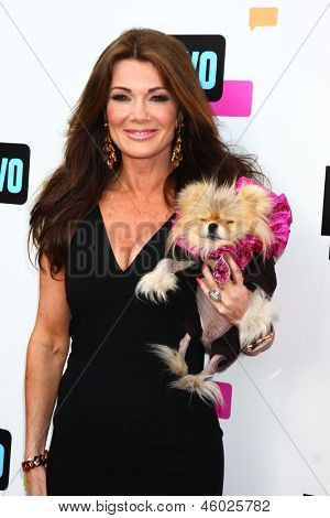 LOS ANGELES - MAY 22:  Lisa Vanderpump, Giggy arrives at the Bravo Media's 2013 For Your Consideration Emmy Event at the ATAS Leonard H. Goldenson Theater on May 22, 2013 in No. Hollywood, CA