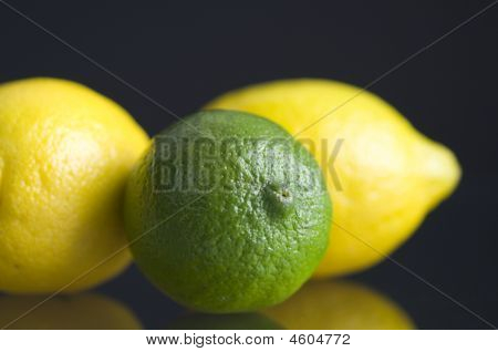 Lime With Two Lemons