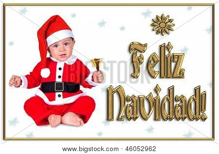 Cute Christmas Baby, Feliz Navidad