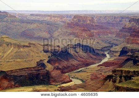 River Through Grand Canyon