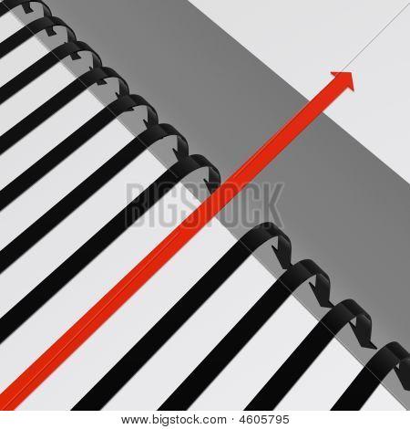 bridge a gap (from high resolution 3D image set) poster