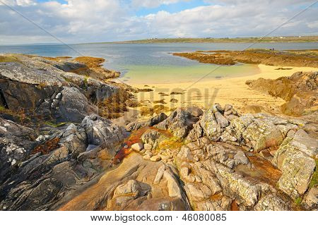 Beautiful Scenic Rural Landscape From Ireland