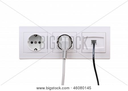 Outlets On Wall