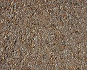Concrete filed with gravel texture mottled background poster