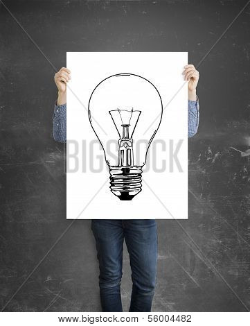 Poster With Lamp