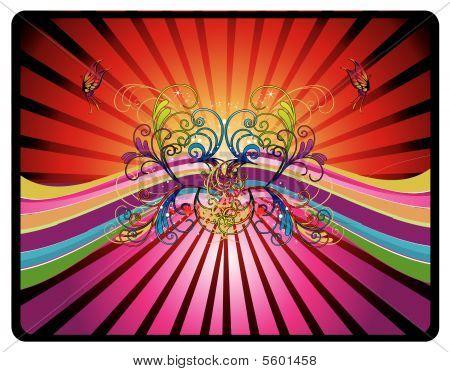 color vector composition