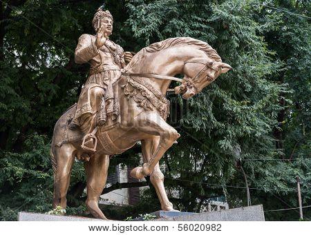 Statue Of Sri Basavanna In Bengaluru.