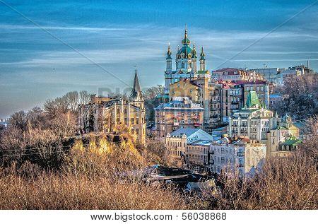 Sunny day in Kiev