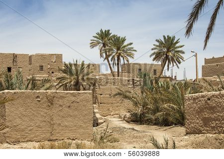 Clay Buildings In Morocco