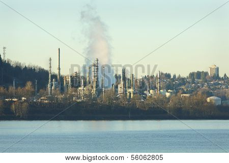 Oil Refinery, Burrard Inlet