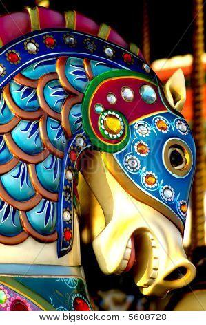 Aquatic Carousel Horse