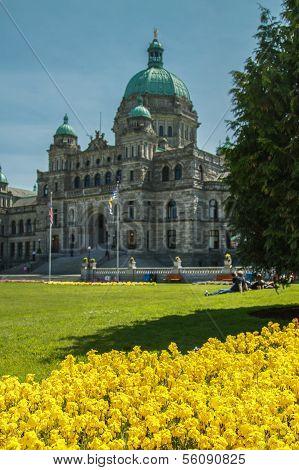 Parliament house in Victoria BC.