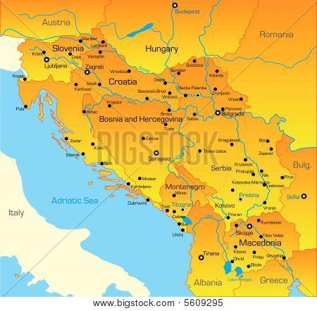 Balkan region