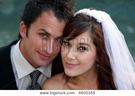 Wedding Couple Portrait