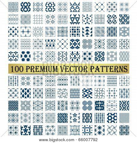 100 Premium Vector Patterns