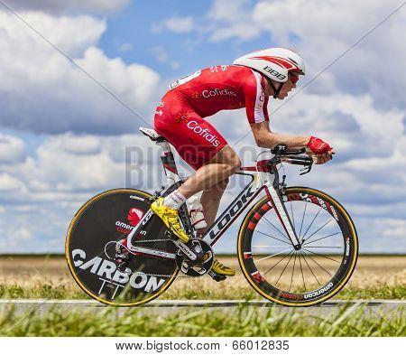 The Cyclist Romain Zingle