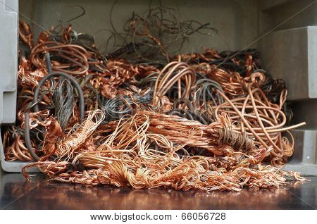 copper wires recycling