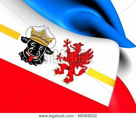 Flag Of Mecklenburg-vorpommern