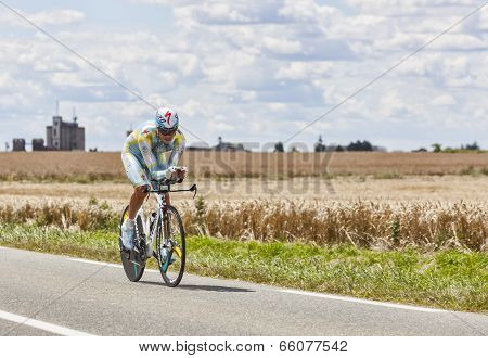 The Cyclist Andrey Kashechkin