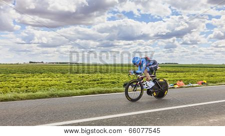 The Cyclist Christian Vande Velde