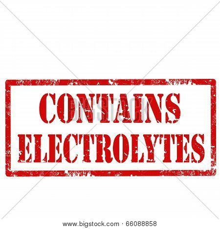 Contains Electrolytes-stamp