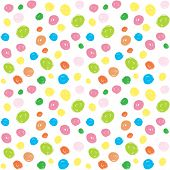 kids colorful brush stroke seamless vector background pattern poster
