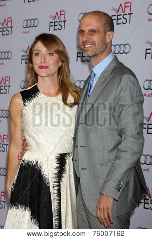 LOS ANGELES - NOV 12:  Sasha Alexander, Edoardo Ponti at the A Special Tribute to Sophia Loren at AFI Film Festival at the Dolby Theater on November 12, 2014 in Los Angeles, CA
