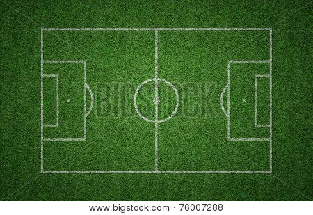 Grass Soccer Pitch