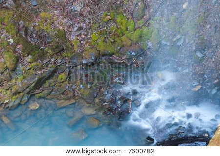 Bottom Of Bowers Hallow Falls