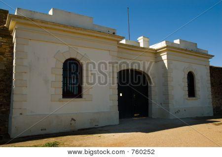 Gaol Entrance