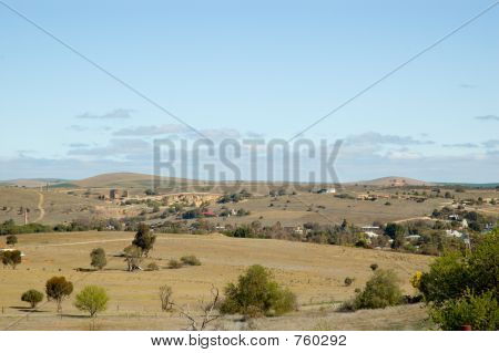 Burra Mine Landscape