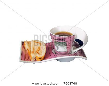 Cup With Black Coffee