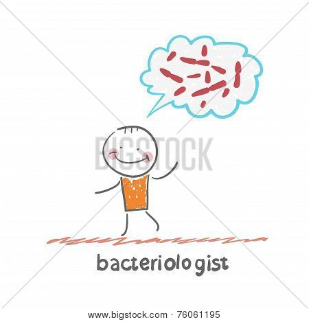bacteriologist thinks about germs