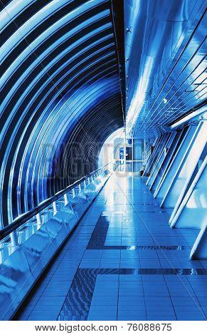 Futuristic Interior Bridge