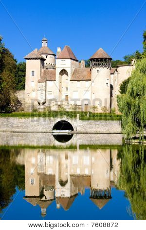 Sercy Castle Burgundy France