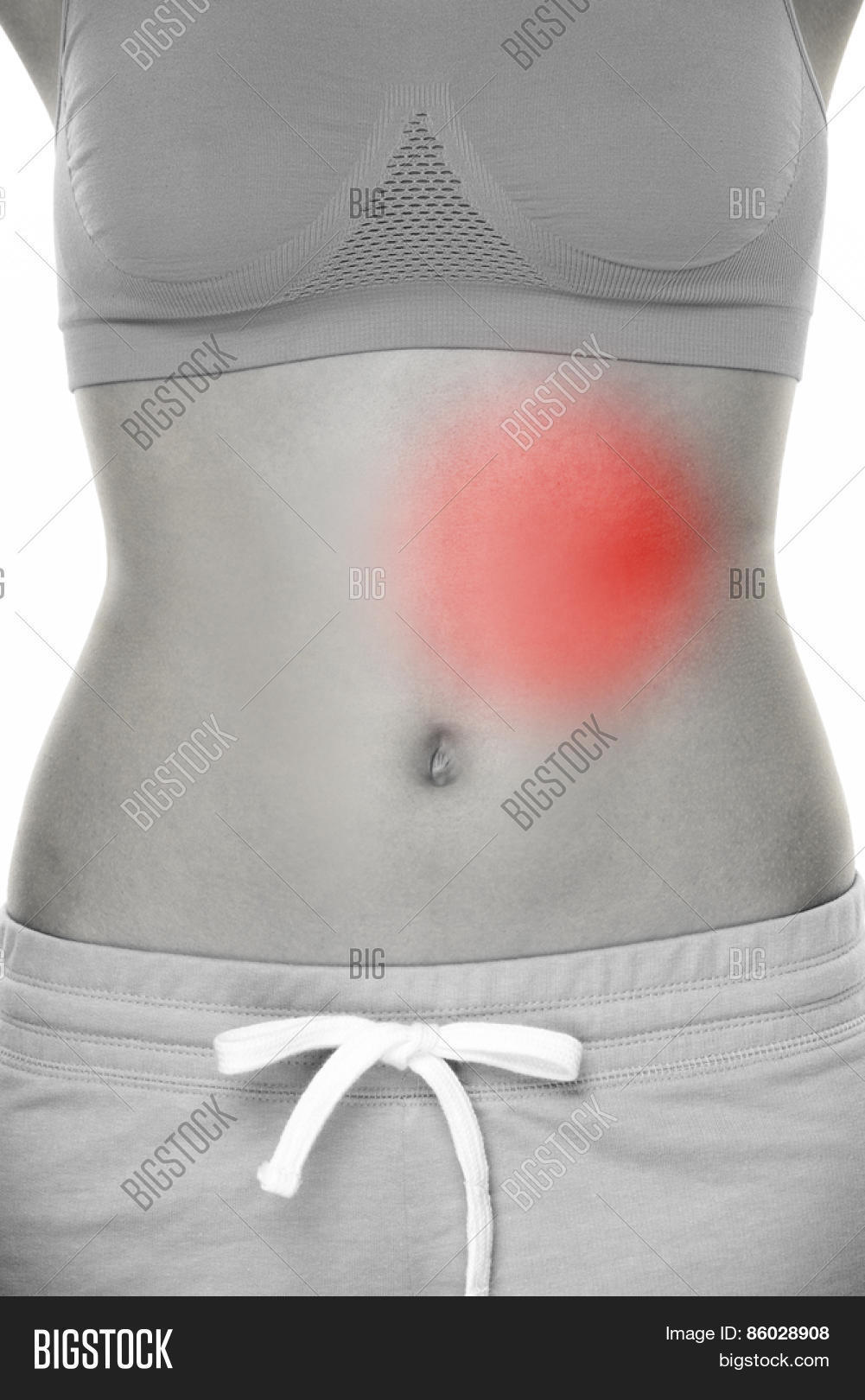 Female Body Pain Image Photo Free Trial Bigstock