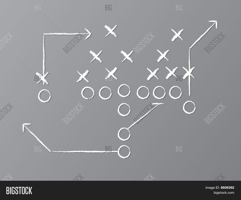 Vector football play vector photo bigstock vector football play pooptronica Images