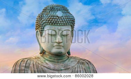 Hyogo Daibutsu - The Great Buddha at Nofukuji Temple in Kobe Japan