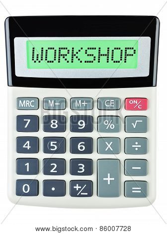 Calculator With Workshop