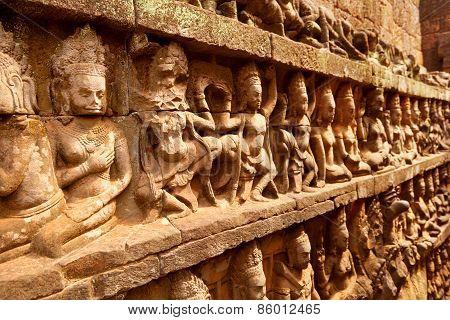 Leper King, Angkor Wat, Cambodia