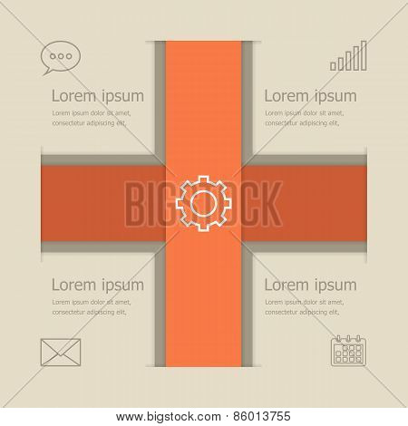 Abstract Vector Banners Infographic Design